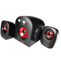 ALTAVOCES MARS GAMING 2.1 MS220W RMS MNI JACK 3.5 ALIMENTACION USB ULTRA BASS