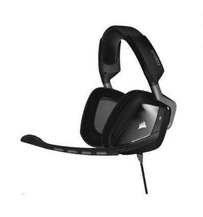 AURICULARES CORSAIR VOID USB 7.1 NEGRO-ROJO PC/PS4/Xbox One