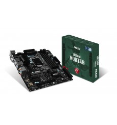 PLACA MSI Z170M MORTAR LGA1151 4XDDR4/3600 6XSATA USB3.1 AUDIO7.1