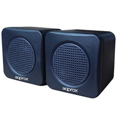 ALTAVOCES APPROX 2.0 STEREO 5W MINIJACK USB POWER