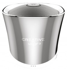 ALTAVOZ BLUETOOTH CREATIVE WOOF CHROME AUTONOMIA 6H.