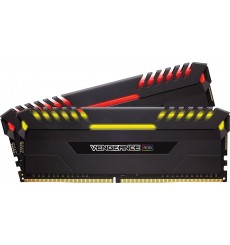 MEMORIA CORSAIR DDR4 16GB 2X8GB PC 3000 VENGEANCE BLACK RGB